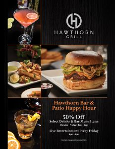 Hawthorn Grill Bar and Patio Happy Hour Las Vegas