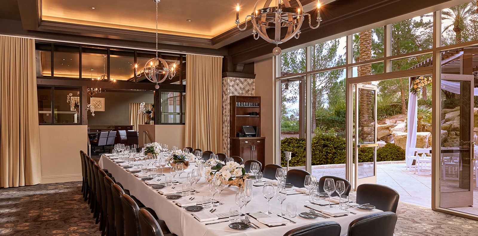 Private Dining Las Vegas Wedding Venue Image