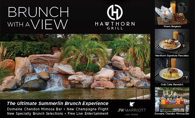 Sunday Brunch at Hawthorn Grill
