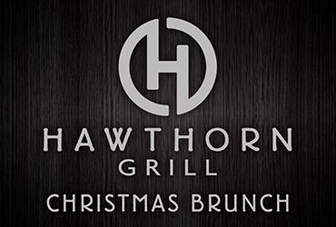 Christmas Brunch Menu at Hawthorn Grill